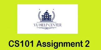 CS101 Assignment 2 Solution 2020