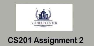 CS201 Assignment 2 Solution 2020