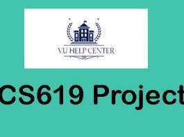 CS619 Project