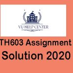 Mth603 Assignment 1 Solution 2020