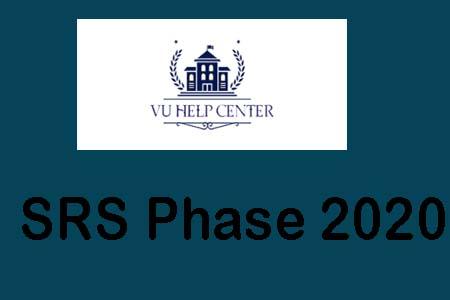 SRS Phase 2020