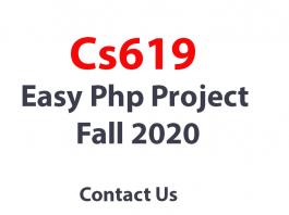Cs619 Final Project