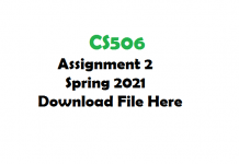 CS506 Assignment 2 Spring 2021